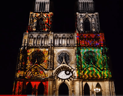 Mapping Cathédrale Orléans