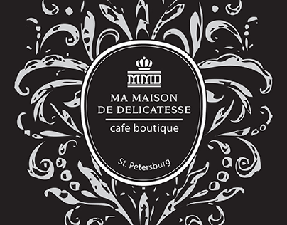 Cafe boutique branding