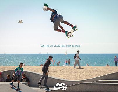 Nike SB branding