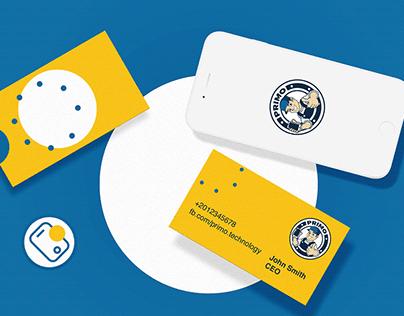 Primo Brand Identity Design.