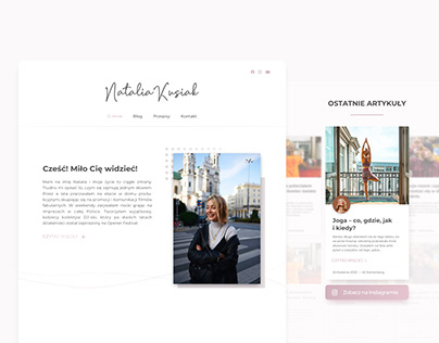 Natalia Kusiak - website