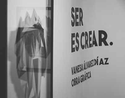 SER ES CREAR, Own Exhibition in Art Gallery