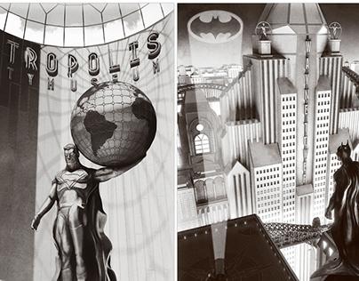 Metropolis & Gotham locations 1