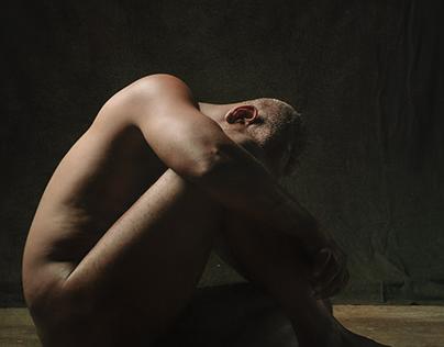 Jaime, Seated Nude, July 2021