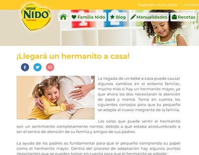 Redacción Artículos Blog :: NIDO Ecuador