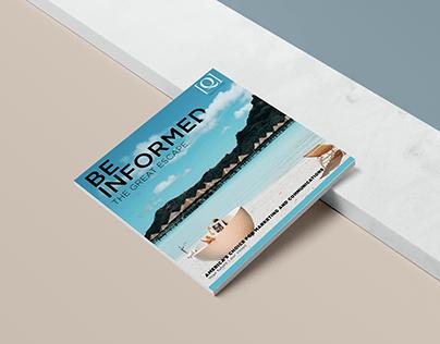 Corporate Magazine Mockup