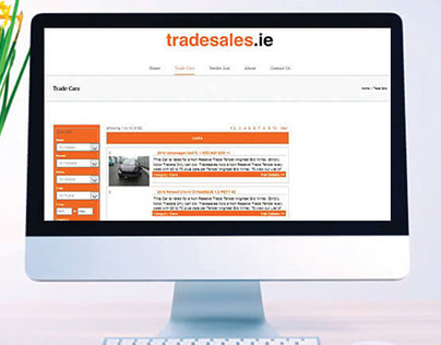 TradeSales (WordPress)