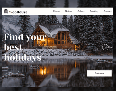 Holiday house web site design
