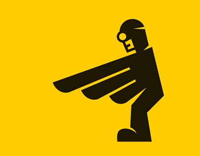 Rent a CIO, logo & icon creation