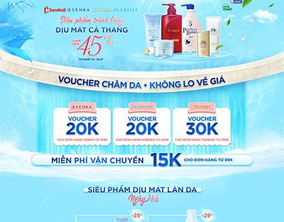 Shiseido CPC x Sendo July Campaign