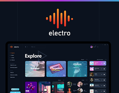 electro music player