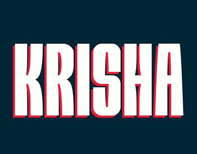 Free Krisha Sans Serif Font