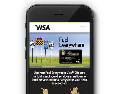 Responsive Gift Card Website for Blackhawk Networks