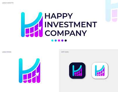 Investments Logo design, Financial Investment Logo.