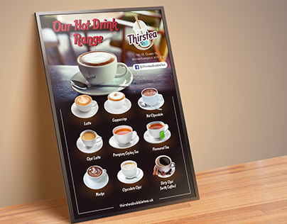 Cafe Menu Poster