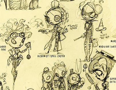 Standard Character Design Types