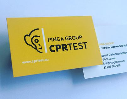 Logodesign 'Pinga Group'