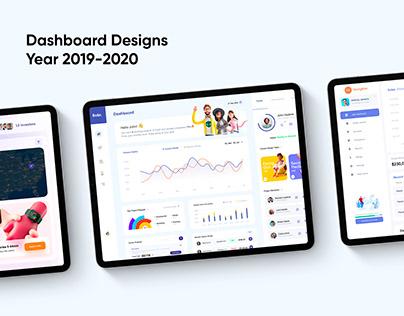 Dashboard Designs 2019-2020