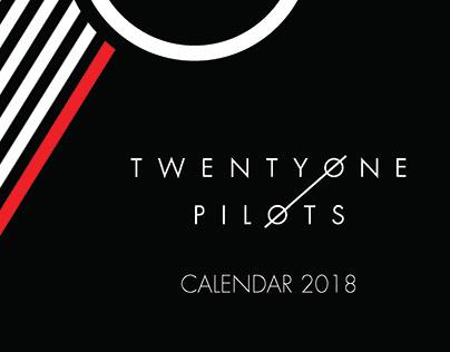 Twentyone Pilots Tribute 2018 Calendar