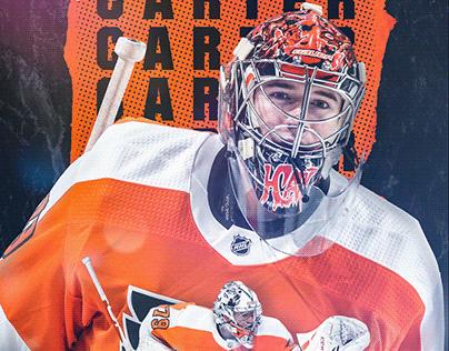 Carter Hart Philadelphia Flyers Wallpaper