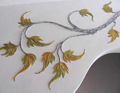 "Bas-relief ""Tree"""