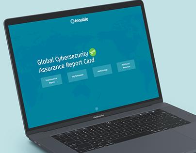 Global Cybersecurity Assurance Report Card Microsite