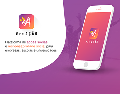 #EmAção - Mobile User Interface