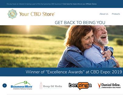 Your CBD Store Website | Daniel Gysel