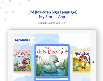 LSM(Mexican Sign Language) My stories App
