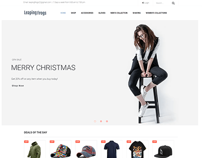 Dropship Website with winning product research