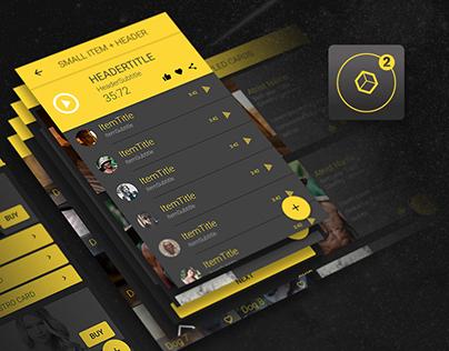 Ionic 2 UI Theme/Template App - Material Design