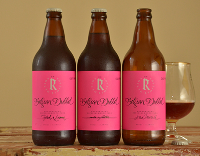 :: BEER LABEL :: Roter Dubbel
