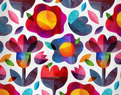 Cvetna meditacija/Floral pattern meditation