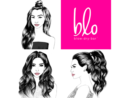 KH for Blo Blow Dry Bar