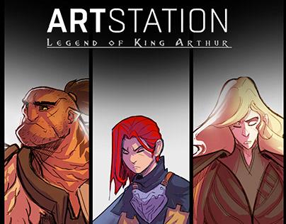 Legend of King Arthur: Artstation Challenge