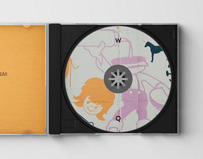 CD Jewel Case Mockup - PSD