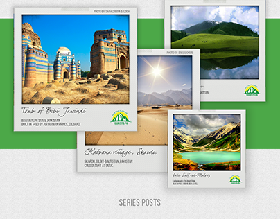 Touristo.Pk - Social & Print Branding