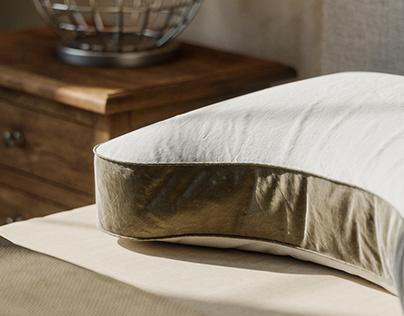 Set of Pillows CGI