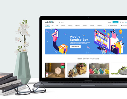 ApolloBox Website Design