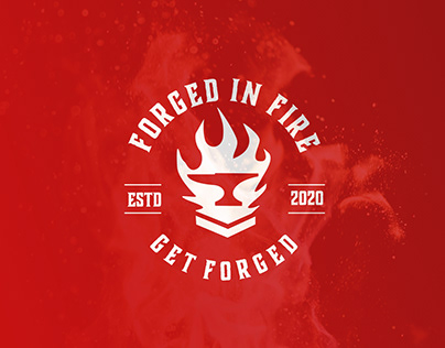 Powerfull Apparel Logo for Forged In Fire