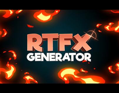 RTFX Generator [Script + 440 FX pack]