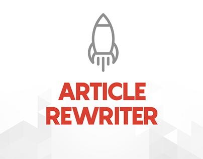 Free Article Rewriter