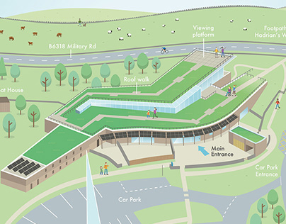 The Sill - National Landscape Discovery Centre 3D Map