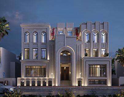 neoclassic villa