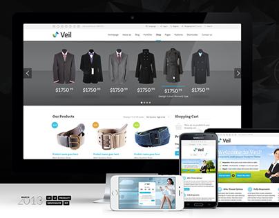 Veil - Master WordPress Theme & Uber UI Kit - 2013