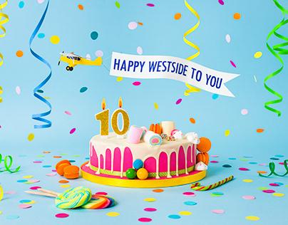 WESTSIDE 10TH ANNIVERSARY