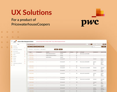 UX Solutions || PAMS Application