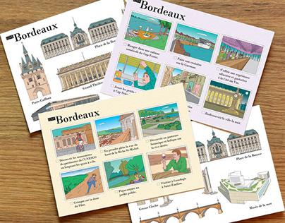Illustrations pour carnets de voyage BORDEAUX