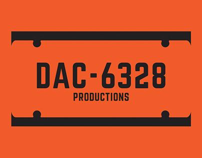 DAC-6328 Productions Brand Identity