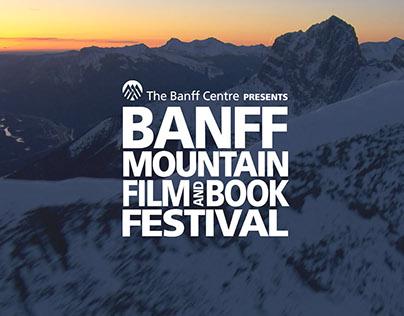 Banff Mountain Film and Book Festival Sponsor Banner